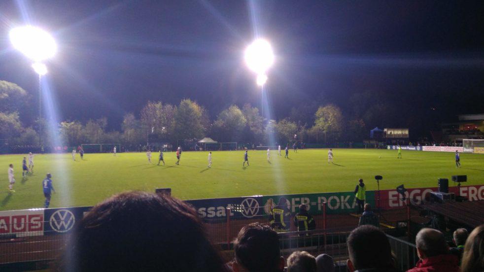 Beim Pokalspiel des 1. FC Saarbrücken gegen den 1. FC Köln am 29.10.2019 kam es zur Sensation.